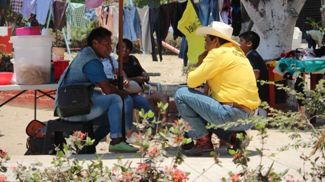 Otoniel Barragán continúa recorrido en zonas marginadas