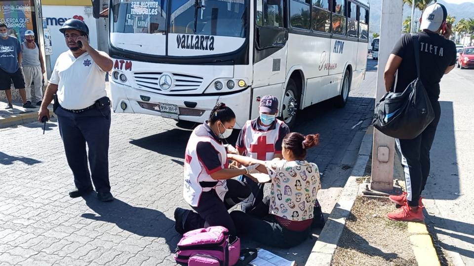 Otra vez el transporte público atropella a una mujer