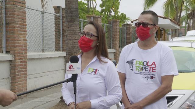 Candidata del PRI a la presidencia municipal de Puerto Vallarta