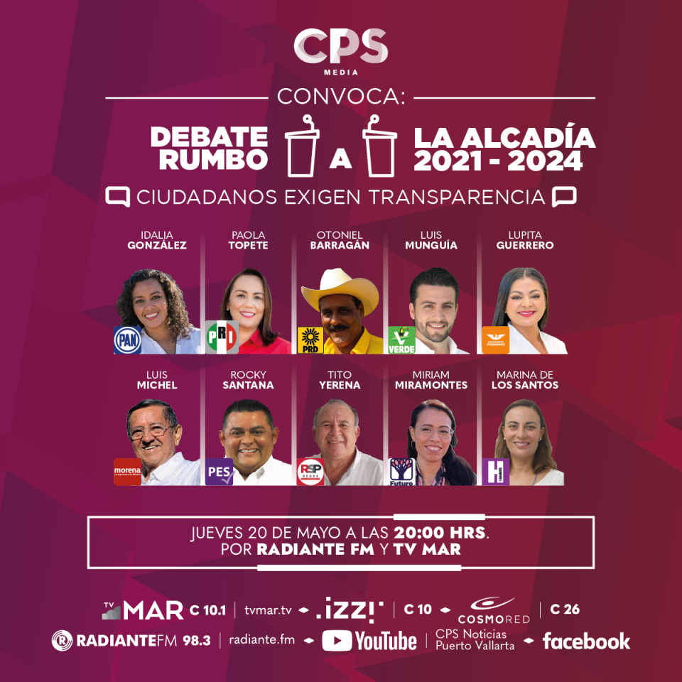 Debate alcalde Puerto Vallarta