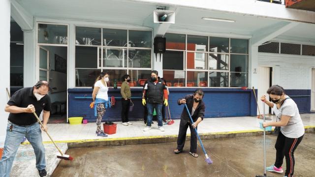 Regresan actividades en escuelas de Jalisco