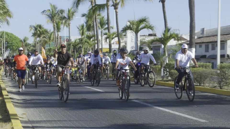 Domingo de rodada ciclista organiza el MC