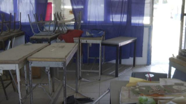 Saqueo en escuelas de Puerto Vallarta