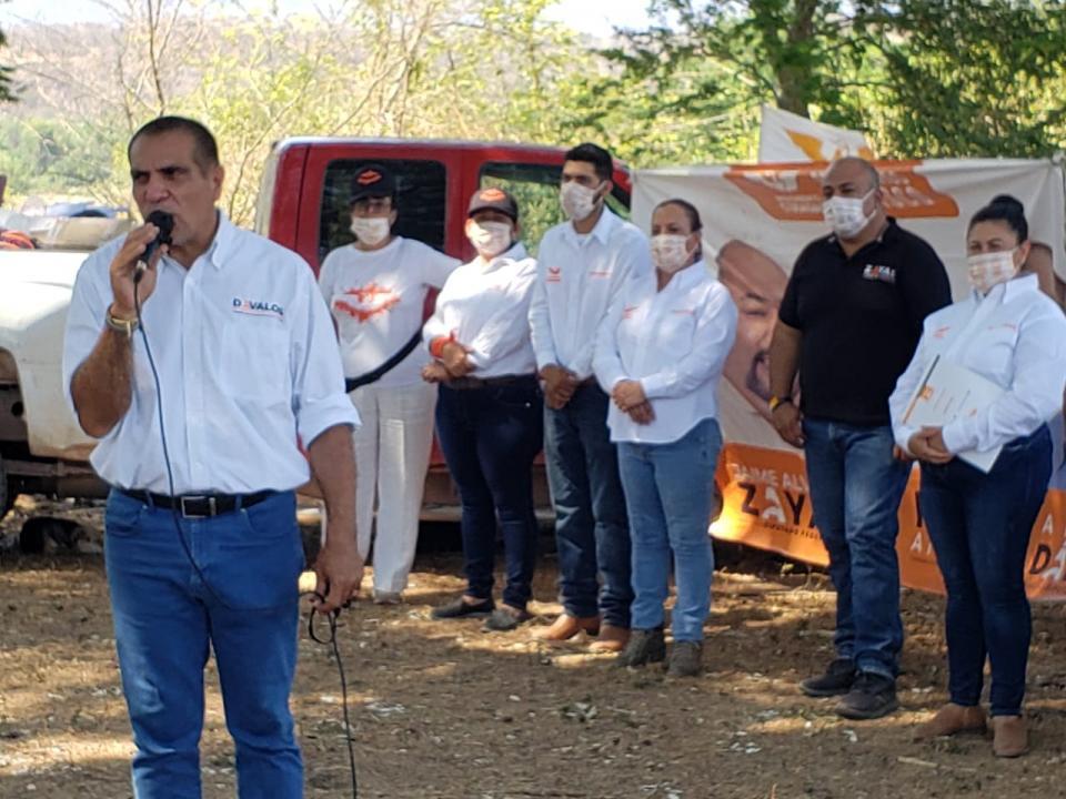 Comprometido con municipios serranos: Arturo Dávalos