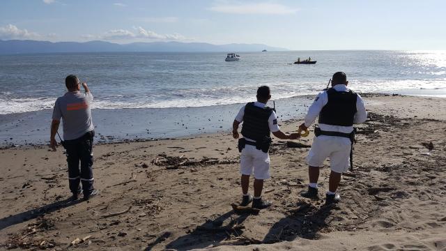 Se hunde velero con 6 personas en Vallarta