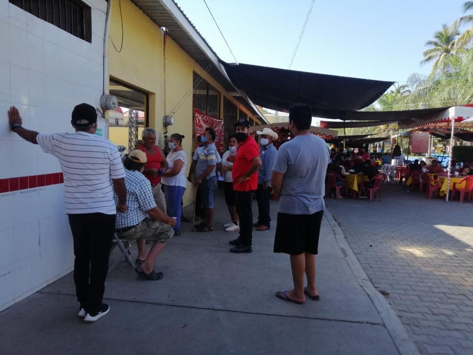 Continúa la segunda jornada de vacunación en San Vicente