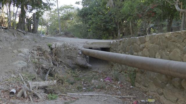 Sin medidas preventivas en el arroyo del Tigre del Colomo