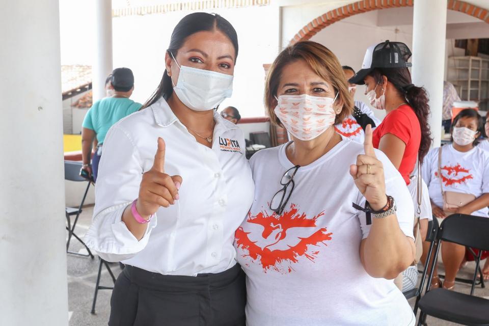 Suma Lupita Guerrero diferentes grupos políticos y sociales