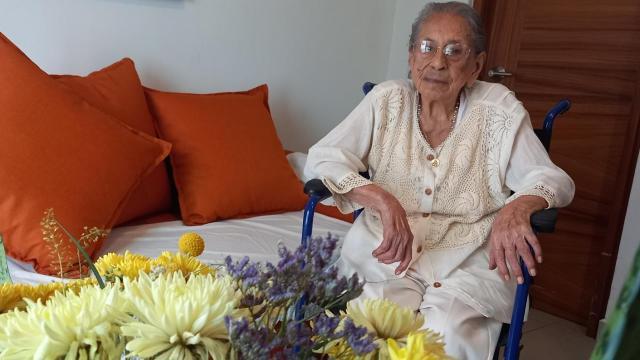 Tiene 105 años la mamá más longeva de Vallarta