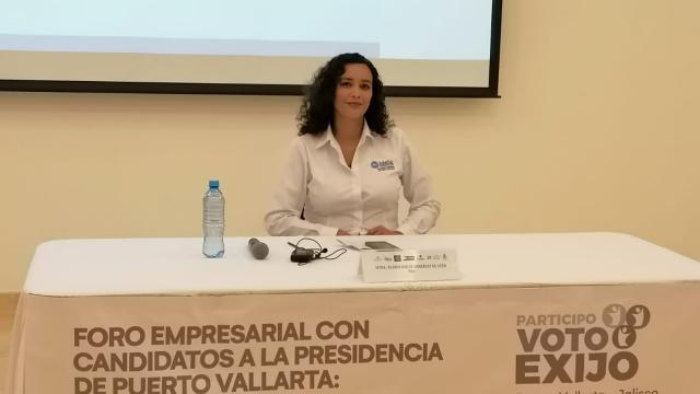 Candidata del PAN por la presidencia municipal de Puerto Vallarta
