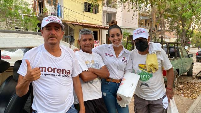 Candidata de Morena