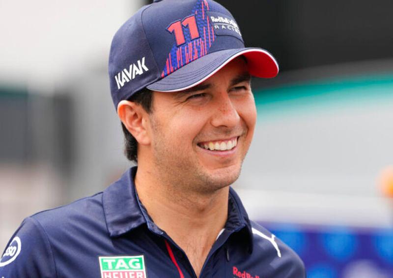 """""""Checo"""" Pérez satisfecho con su posición en el GP de Francia"""