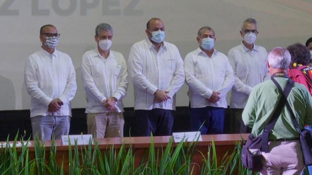 Jorge Téllez rinde segundo informe de actividad en CUCosta