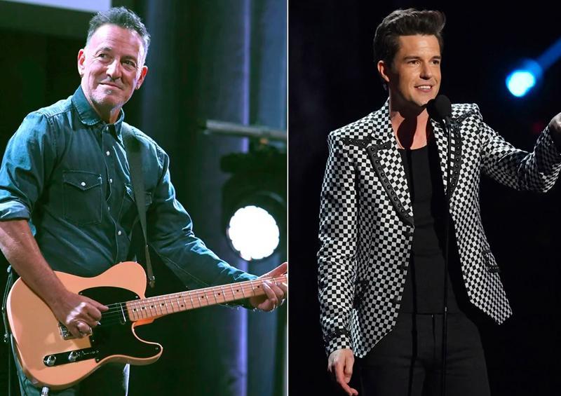 Colaboración entre Bruce Springsteen y The Killers
