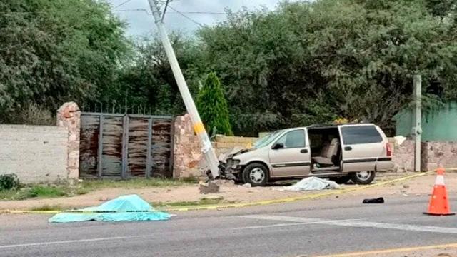 Camioneta de monjas atropella y mata a 3 mujeres