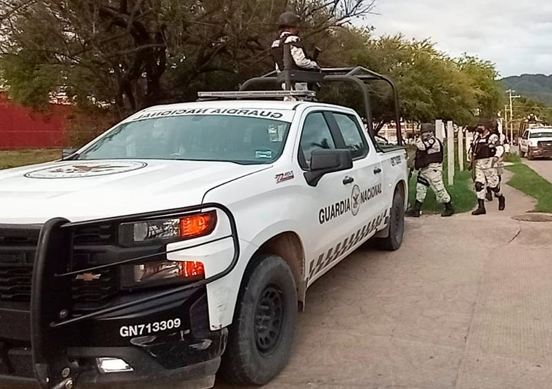Guardia Nacional se moviliza en Vallarta