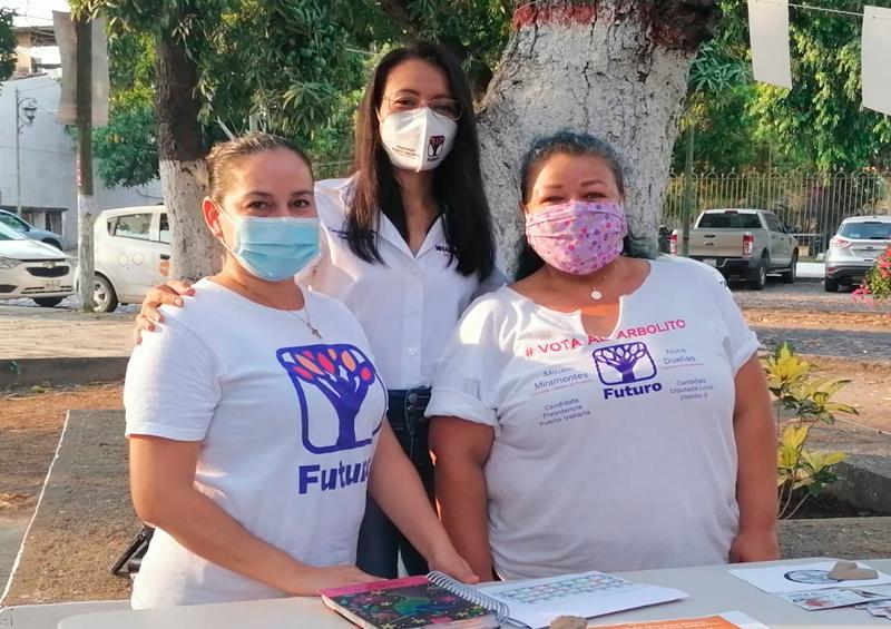 Miriam cierra campaña con rehabilitación de parque