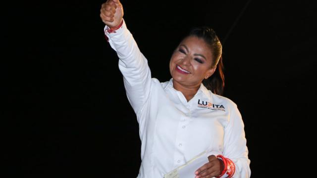 Lupita Guerrero confía en que ganará la alcaldía