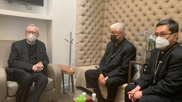El cardenal Pietro Parolin, secretario de Estado del Vaticano