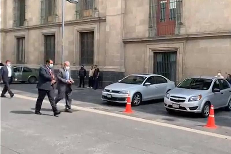 Se reúne AMLO con Carlos Slim  y Claudia Scheinbaum