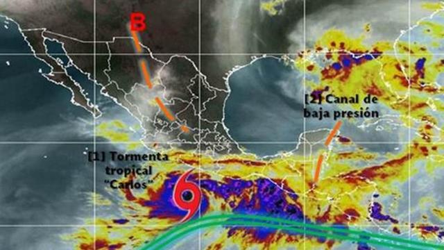 Baja Presión ocasionará lluvias en Jalisco y Nayarit