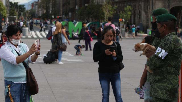 Actualización de casos covid-19 en México