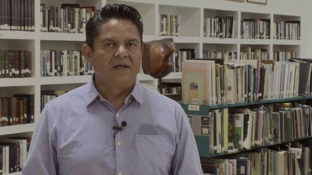 Celebran el primer aniversario de la biblioteca Los Mangos