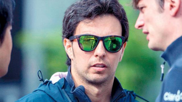 Checo Pérez en Fórmula Uno