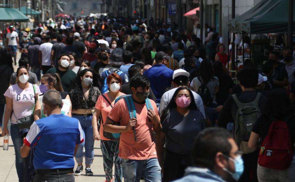 México suma otros 6 mil 535 contagios de Covid-19