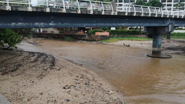 Estables los niveles de ríos y canales en el Puerto