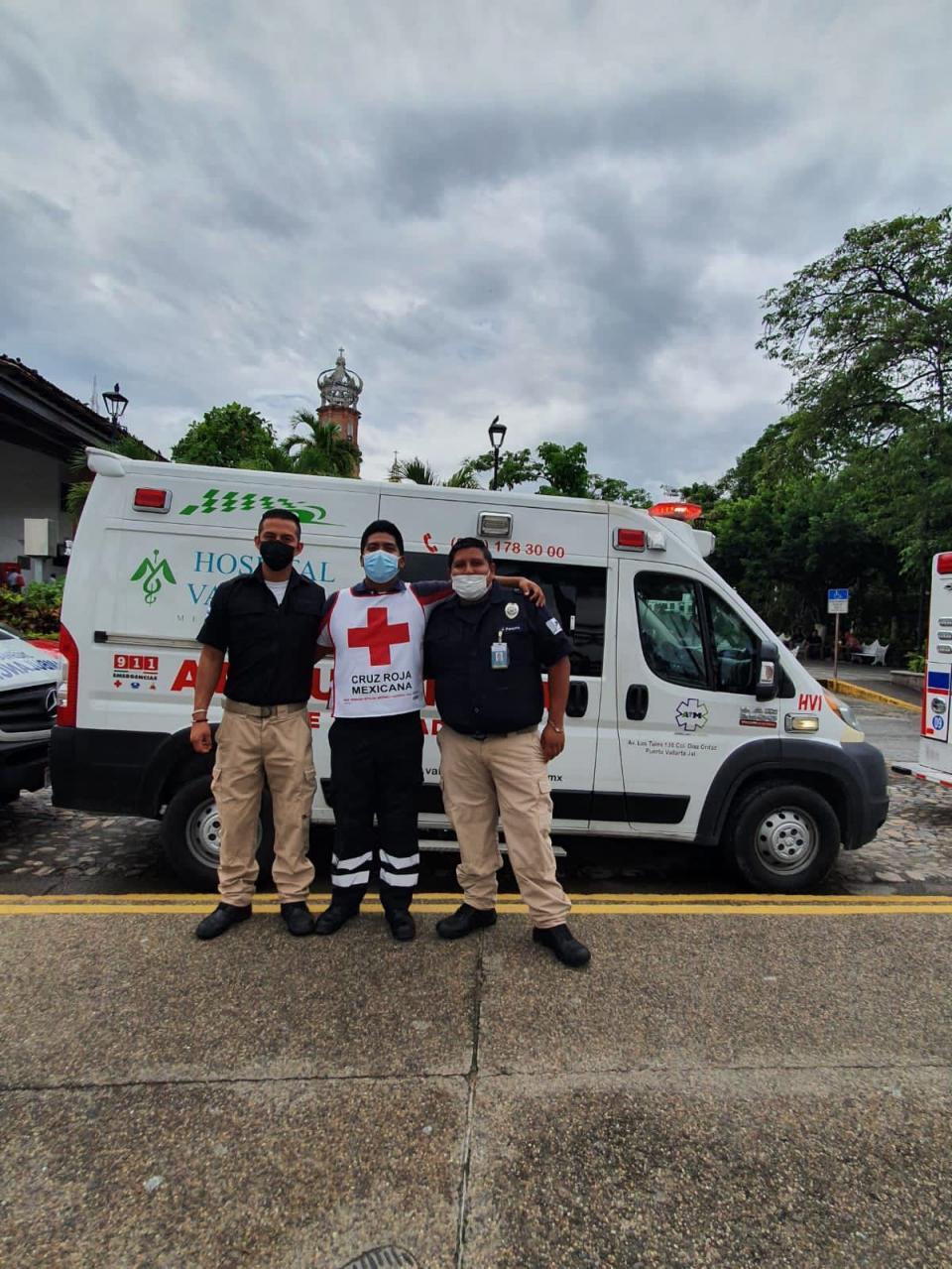 Festejan día de paramédico en Puerto Vallarta
