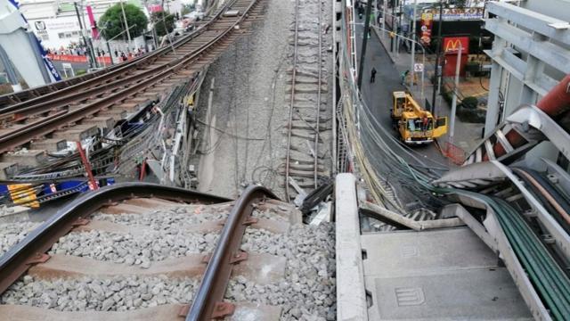 En 2015 se sobrecargó estructura de Línea 12 del Metro