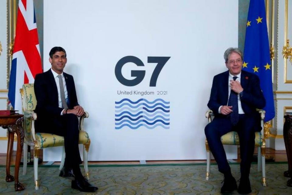 G7 crea un impuesto mínimo global a multinacionales