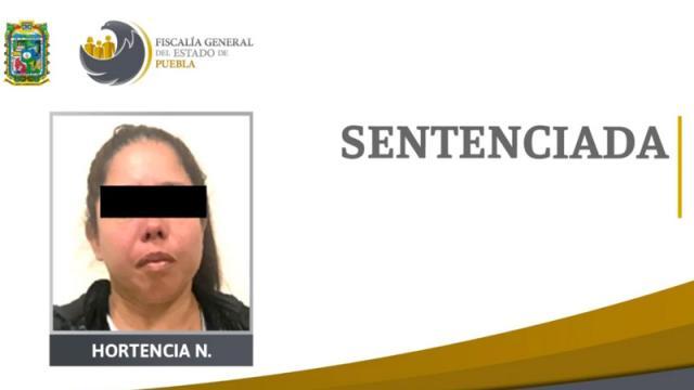 Detenida en Puebla