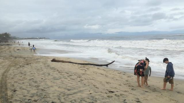 Oleaje y mareas en playas de Bahía de Banderas