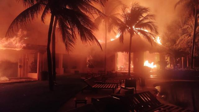Incendio en Casa Aramara, Punta de Mita