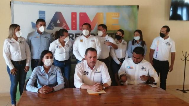 Invita Jaime Cuevas a su cierre de campaña