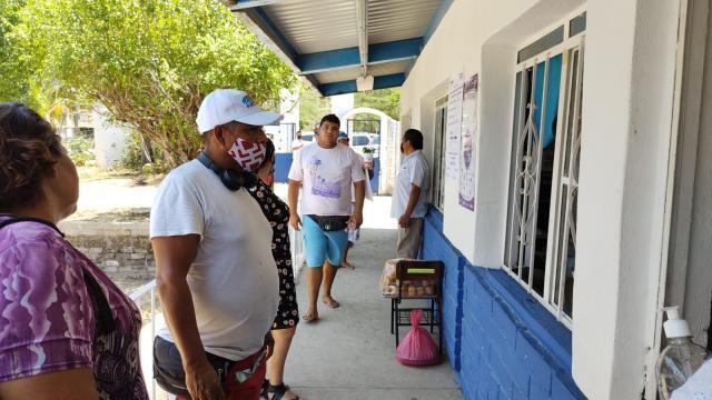 Más de 221 ciudadanos han votado en Mismaloya