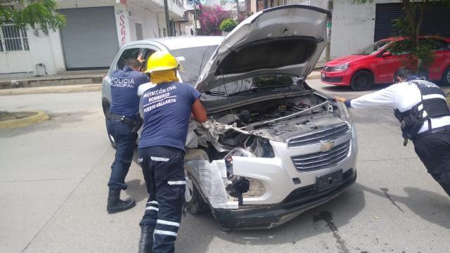 Motociclista herido en la colonia Infonavit