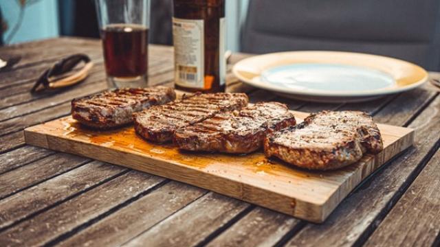 Parrilla para carne asada