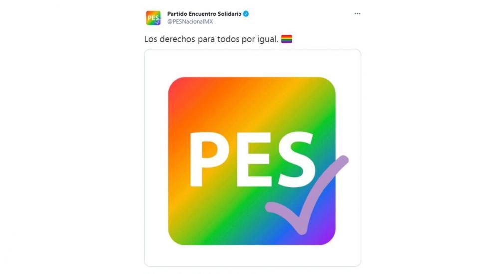 PES pierde registro y el control de sus redes sociales