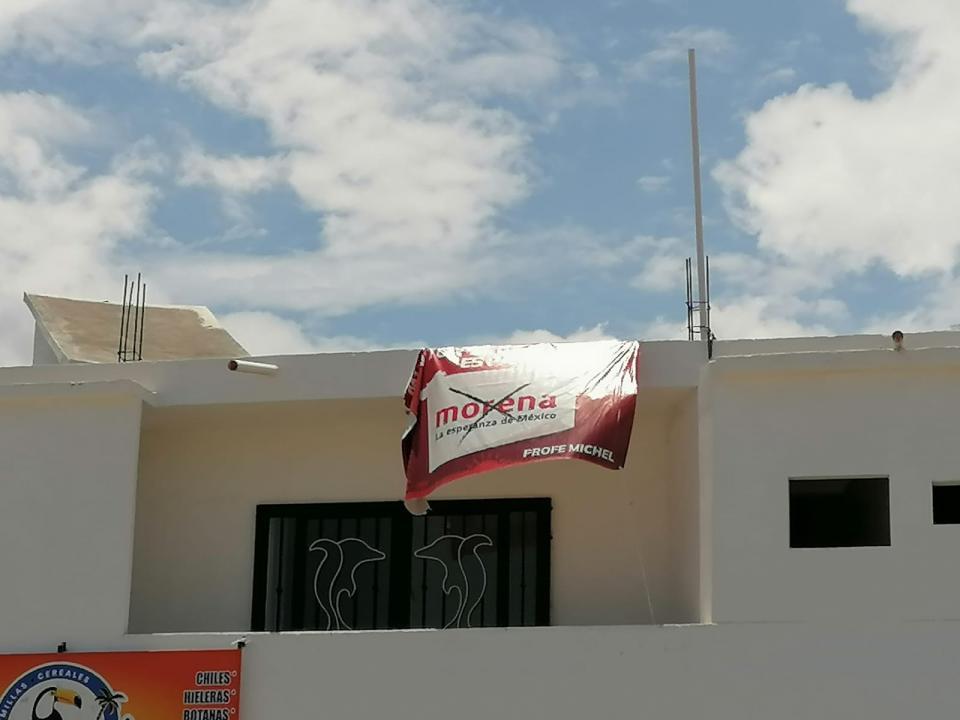Propaganda política de elecciones 2021 en Puerto Vallarta