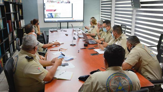 Sesiona Comité Estatal de Emergencias ante Tormenta Dolores