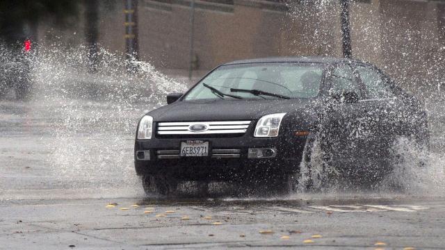 Vehículo lluvias