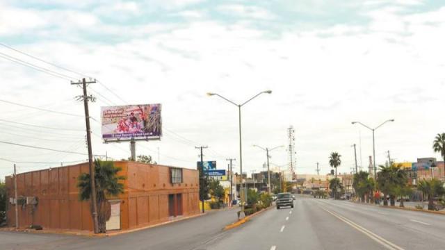 Zona fronteriza entre México y Estados Unidos