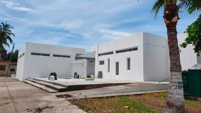 Improvisan centro Covid en Ixtapa ante colapso hospitalario