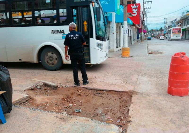 La próxima semana se abre a la circulación la calle Emiliano Zapata en el Pitillal