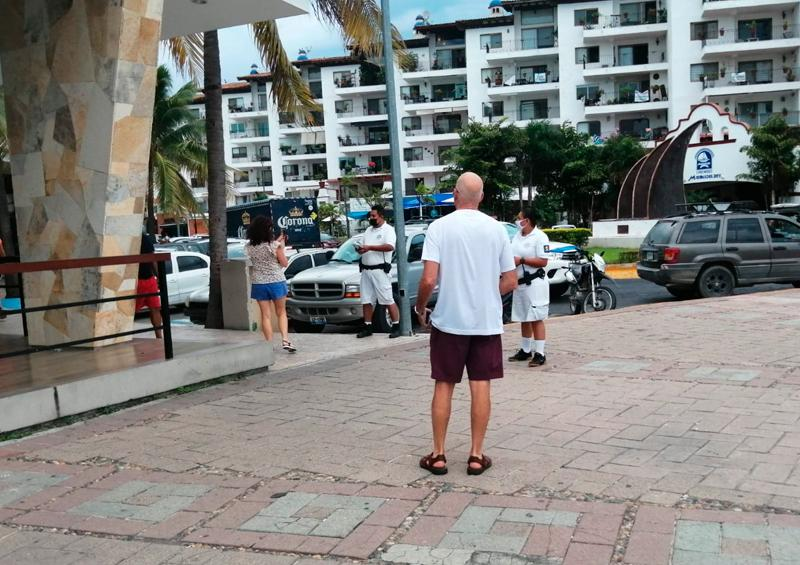 The use of a mask is mandatory in all areas of Marina Vallarta