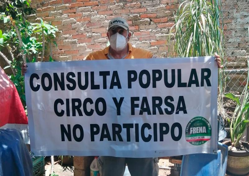 FRENA Vallarta invita no participar en Consulta Popular; es circo y farsa
