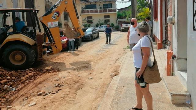 Piden paciencia por afectaciones de obras en Centro de Vallarta